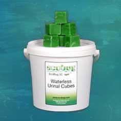Waterless Urinal Cubes